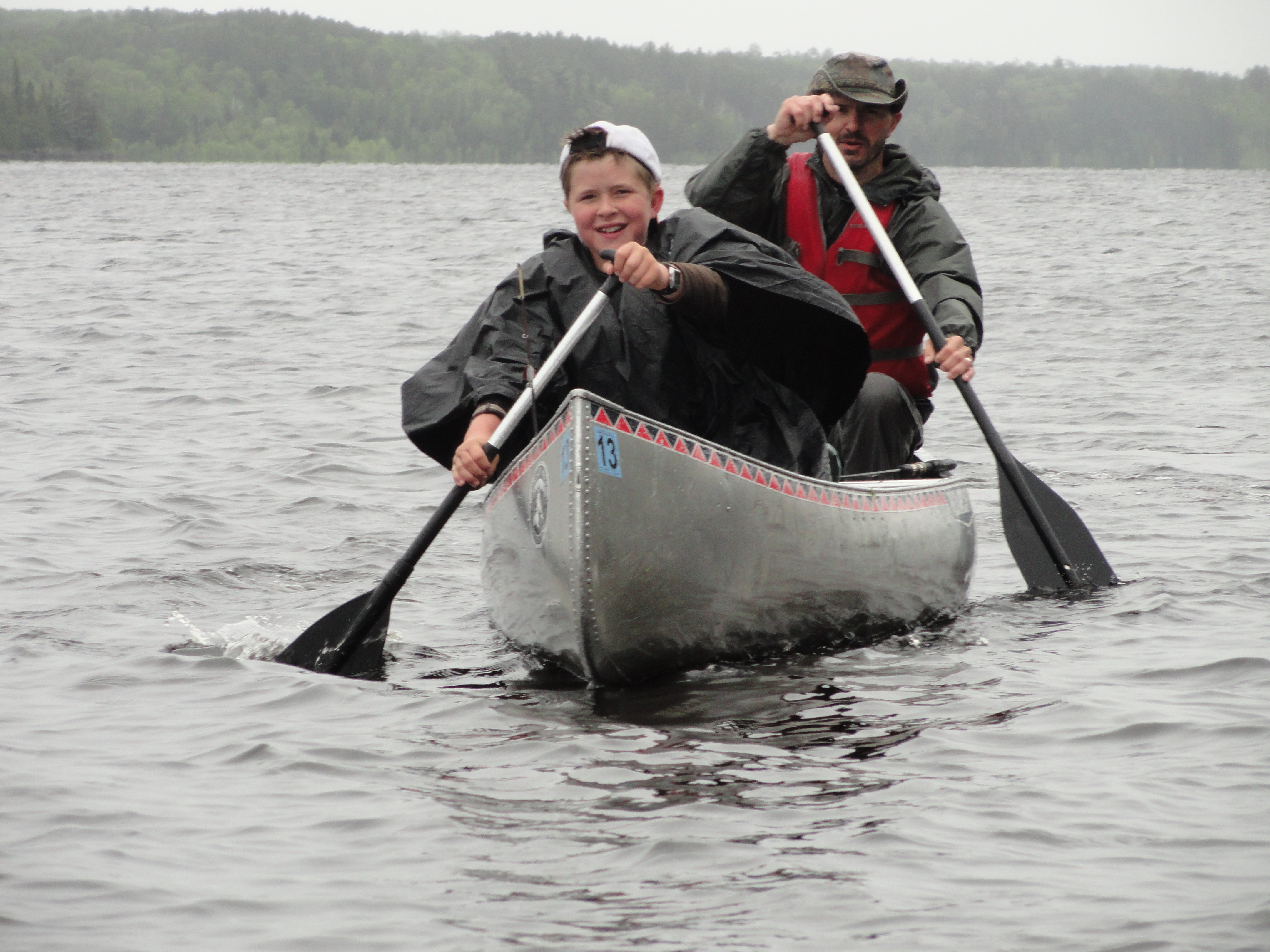 2011 Jetton Fishing Trip- Boundary waters Day 3 part 1